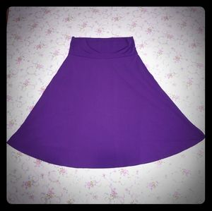 Pretty Purple Skirt by LuLaRoe